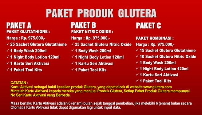 Paket Glutera